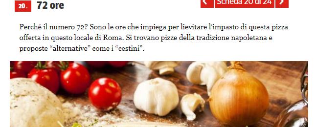 Le 24 Pizzerie italiane da provare